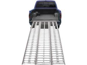 """95"""" Arched Full Size Aluminum Non-Folding Motorcycle Ramp System"""