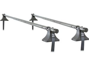 "44"" to 60"" Telescoping Roof Rack Cargo Cross Bars 150 lb. Capacity"