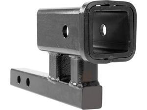 "1.25"" to 2"" Towing Hitch Rise or Drop Extension Adapter"