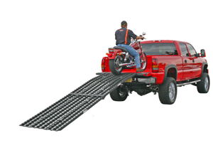 12 ft. Black Widow Arched Aluminum Extra Long Motorcycle Loading Ramps