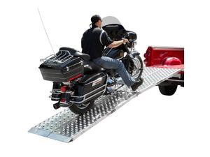 "Big Boy EZ Rizer 2-Piece 120"" Aluminum Motorcycle Loading Ramps"