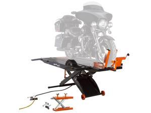 Black Widow ProLift Motorcycle Lift Table with Cruiser V-Twin Center Jack