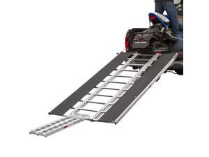 """94"""" x 54"""" Snowmobile Loading Ramp with Extra Wide Glides"""