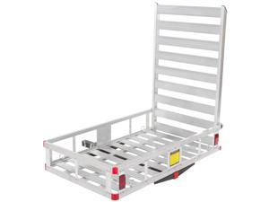 Economy Hitch Mounted Mobility Scooter Carrier Rack with Ramp