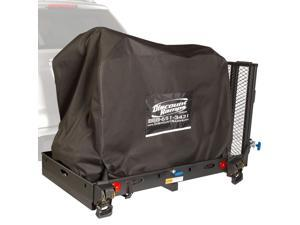 Silver Spring Essential Hitch Mobility 500 lb Carrier with Scooter Cover