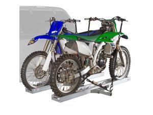 "Double Motocross 600 lb Capacity Dirt Bike Carrier Rack for 2"" Receivers"
