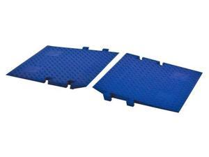Cross-Guard Polyurethane ADA Compliant Ramps for Guard Dog 5 Channel Heavy Duty Cable Protectors