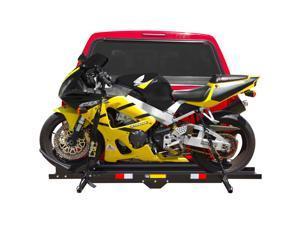 Black Widow Steel Hitch-Mount 600 lb Motorcycle Carrier