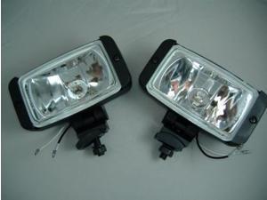 #40;2 #41; 12V Trailer ORV Truck RV SUV 55W Halogen Work Utility Lights