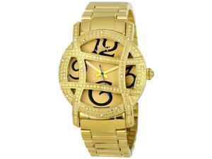 JBW Women's 'Olympia' Gold-Tone Diamond Watch
