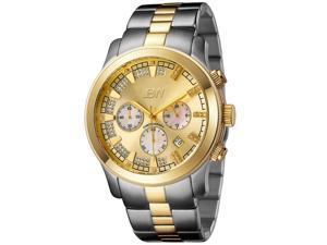 JBW Men's Two-Tone Steel 'Delano' Chronograph Watch