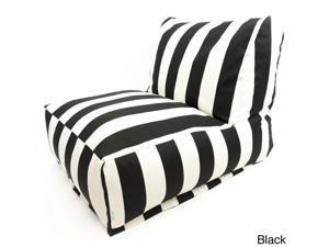 Indoor/Outdoor Vertical Strip Bean Bag Chair Lounger