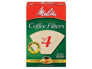 Melitta Filter #4 Nat 100Ct 3001-4054