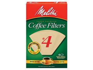 Melitta Filter #4 Nat 40Ct 3001-5119