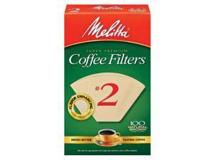 Melitta Filter #2 Nat 100Ct 3001-5077