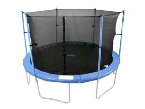 16-inch 6-pole Trampoline Enclosure Net For Round Frame (Poles Not Included)