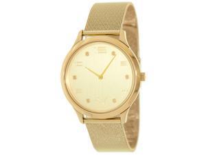 Puma Men's 'Motor' Goldtone Stainless Steel Watch