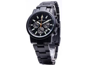 Smith & Wesson Men's Pilot Black Stainless Steel Watch