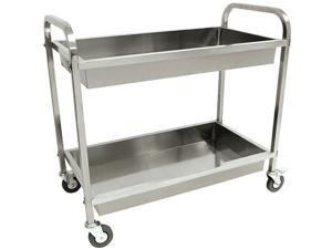 Bayou Classic Stainless Steel Serving Cart