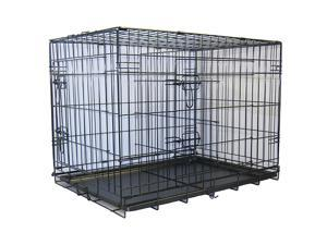 """Go Pet Club 48"""" Metal Dog Crate with Divider - MLD-48"""