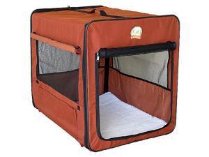 "Go Pet Club 43"" Brown Soft Dog Crate - AB43"