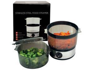 Stainless Steel 4-quart 400-watt Food Steamer