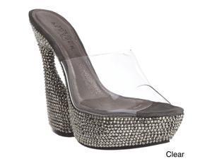 Pleaser Day & Night 'Swan-601DM' Women's Sculptured Heel Platform Heels