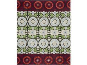 Safavieh Hand-loomed Cedar Brook Ivory Cotton Rug (7'3 x 9'3)