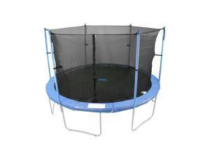 W-Shaped 16 ft. Trampoline Enclosure Set