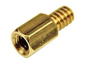 StarTech.com 6-32 Brass Motherboard Standoffs for ATX Computer Case -