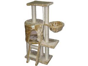 GoPetClub Cat Tree Condo House Scratcher 38-inch Furniture