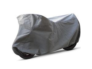 Oxgord All Weather Indoor/ Outdoor Standard Motorcycle Cover for Sport Bikes, Cruisers, Choppers, and Scoot