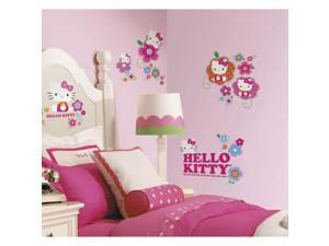 Hello Kitty Floral Boutique Peel and Stick Wall Decals