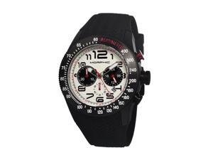 Morphic Men's 'M7 Series' Black Unidirectional Analog Watch