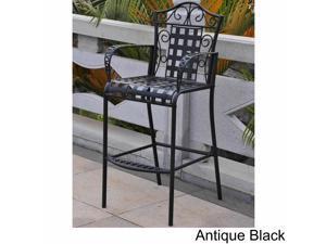 International Caravan Mandalay Iron Bar Chairs (Set of 2)