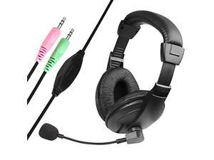 INSTEN VOIP/ SKYPE Black Hands-free Headset with Microphone Version 2
