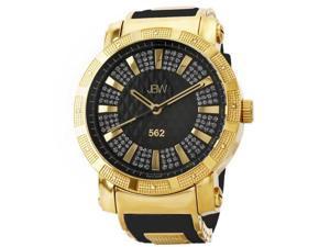 JBW Men's 562 Diamond Mineral Crystal Watch
