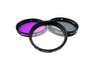 Zeikos Electronics ZE-FLK86 Filter Kit - Ultraviolet, Polarizer, FLD