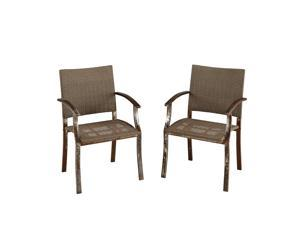 Urban Outdoor Dining Chair Pair