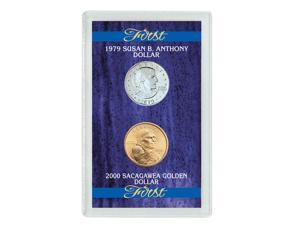 American Coin Treasures First Year 1979 Susan B. Anthony Dollar and 2000 Sacagawea Dollar Set