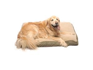 Carolina Pet Four Season Jamison Sage Green with  Berber Top Pet Bed