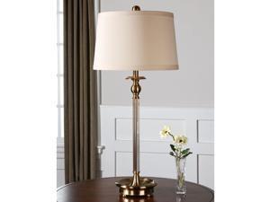 Vairano Brass Table Lamp