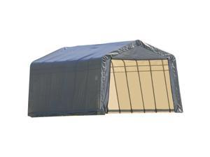 Shelterlogic 75232 Outdoor Garage Grey Canvas Shed