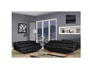 Natalie Black/ Wagner Black Sofa