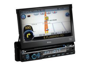 Boss Automobile Audio/Video GPS Navigation System