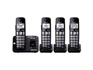 Panasonic KX-TG454SK DECT 6.0 Plus Link-to-cell Bluetooth Cordless Phone System