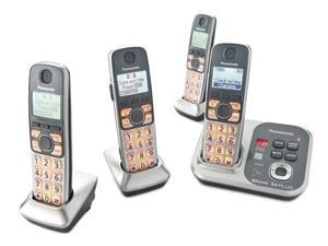 Panasonic KX-TG294SK DECT 6.0 Link-to-Cell via Bluetooth Cordless Phone with Answering System