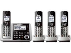 Panasonic KX-TGF374S DECT 6.0 4-Handset Landline Telephone
