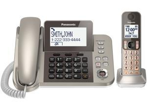 Panasonic KX-TGF350N DECT 6.0 Plus Corded / Cordless Landline Phone System