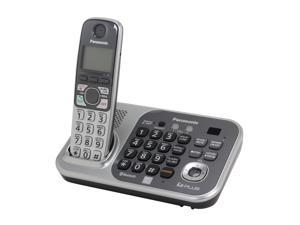 Panasonic KX-TG7741S 1.9 GHz Digital DECT 6.0 Link to Cell via Bluetooth Cordless Phone with Integrated Answering Machine and 1 Handset